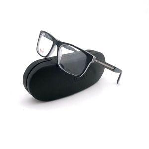 New HUGO BOSS Frames Matte Black Eyeglasses Men's